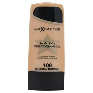 0afa4c782f24 300x300 - Max Factor Long Lasting Performance Foundation, No.109 Natural Bronze, 1.1 Ounce