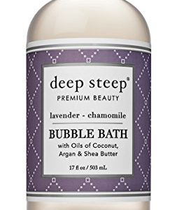 0bde179098c4 253x300 - Deep Steep Bubble Bath, Lavender Chamomile, 17 Ounces