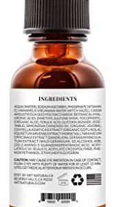 0c418bf7809e 167x300 - ArtNaturals Anti-Aging Vitamin C Serum - 1 Fl Oz - with Hyaluronic Acid and Vit E - Wrinkle Repairs Dark Circles, Fades Age Spots and Sun Damage - Enhanced 20 Percent Top Vitamin C Super Strength