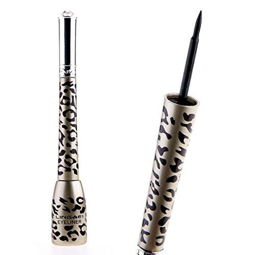 NYKKOLA Makeup Waterproof Leopard Shell Liquid Eye Liner Eyeliner Pen Cosmetic