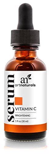 ArtNaturals Anti-Aging Vitamin C Serum – 1 Fl Oz – with Hyaluronic Acid and Vit E – Wrinkle Repairs Dark Circles, Fades Age Spots and Sun Damage – Enhanced 20 Percent Top Vitamin C Super Strength