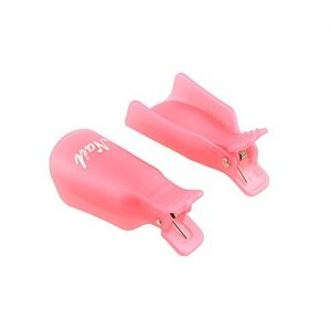 277e8e2fab47 300x300 - 10PC Plastic Acrylic Nail Art Soak Off Cap Clip UV Gel Polish Remover Wrap Tool Rose Red