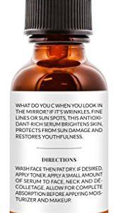 2cc77592dac2 167x300 - ArtNaturals Anti-Aging Vitamin C Serum - 1 Fl Oz - with Hyaluronic Acid and Vit E - Wrinkle Repairs Dark Circles, Fades Age Spots and Sun Damage - Enhanced 20 Percent Top Vitamin C Super Strength