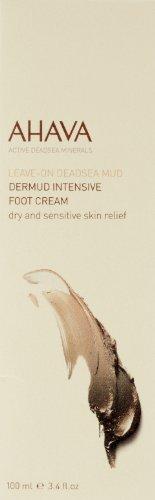 AHAVA Dead Sea Mud Dermud Intensive Foot Cream, 3.4 fl. oz.