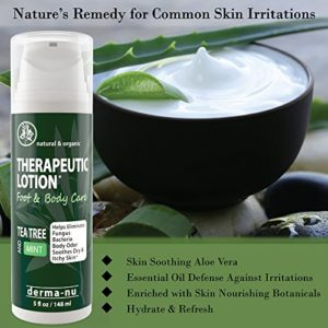 49d1a436fbd9 300x300 - Tea Tree Oil Therapeutic Lotion – Antifungal & Anti Itch Cream for Feet and Body. Protect, Defend & Soothe Irritated Skin, Athletes Foot, Toe Fungus, Body Acne, Ringworm & More