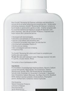 54931e05fe73 224x300 - CeraVe Renewing SA Cleanser 8 oz Salicylic Acid Body Cleanser for Rough and Bumpy Skin