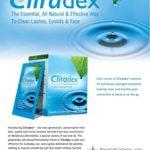 Cliradex Natural Eyelid, Eyelash, and Facial Cleansing Towelettes, Box of 24
