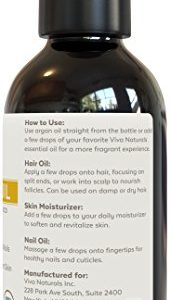 710621a37c9b 171x300 - Viva Naturals Organic Moroccan Argan Oil, 4 oz – 100% Pure and USDA Certified for Face, Hair, Skin and Nails