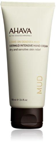 AHAVA Dead Sea Mud Dermud Intensive Hand Cream, 3.4 fl. oz.