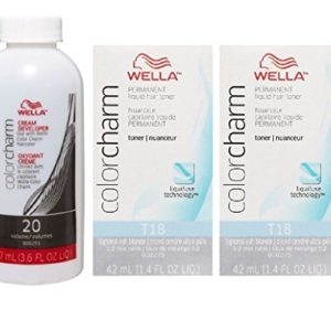 7992dde37471 300x300 - Wella Color Charm T18 Lightest Ash Blonde 2-Pack with CC Cream 20 Developer 3.6 oz. - COMBO DEAL!