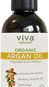 83dc8f0e93b7 171x300 - Viva Naturals Organic Moroccan Argan Oil, 4 oz – 100% Pure and USDA Certified for Face, Hair, Skin and Nails