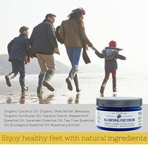 9e459dd57ceb 300x300 - All Natural Antifungal Foot Cream. Moisturizing Organic Relief for Dry Cracked Heels, Callused Feet, Athletes Foot. Best Therapeutic Grade Essential Oils: Peppermint, Lavender, Eucalyptus, Tea Tree.