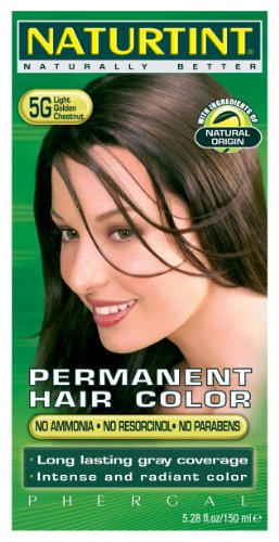 Naturtint Permanent Permanent Hair Colors Light Golden Chestnut (5G) 5.28 oz