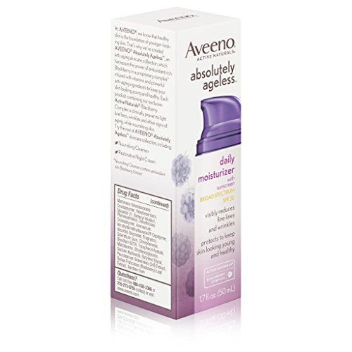 Aveeno Absolutely Ageless Daily Moisturizer With Sunscreen Broad Spectrum Spf 30, 1.7 Fl. Oz