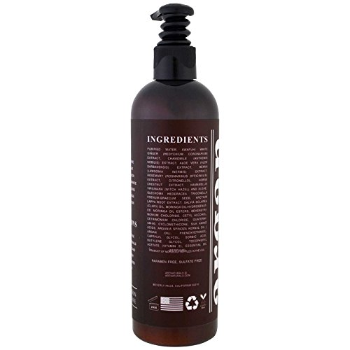 ArtNaturals Argan Oil Leave-In Conditioner – 12 oz Made with Organic and Natural Ingredients – for All Hair Types – Treatment for Damaged, Dry, Color Treated and Hair Loss