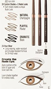 b7ca24f1d8b8 172x300 - Physicians Formula Shimmer Strips Custom Eye Enhancing Eyeliner Trio, Universal Looks Collection, Nude Eyes, 0.03 oz.
