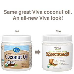 bad5bc482bfd 300x300 - Viva Naturals Organic Extra Virgin Coconut Oil, 16 Ounce