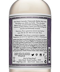 c650396580b6 253x300 - Deep Steep Bubble Bath, Lavender Chamomile, 17 Ounces