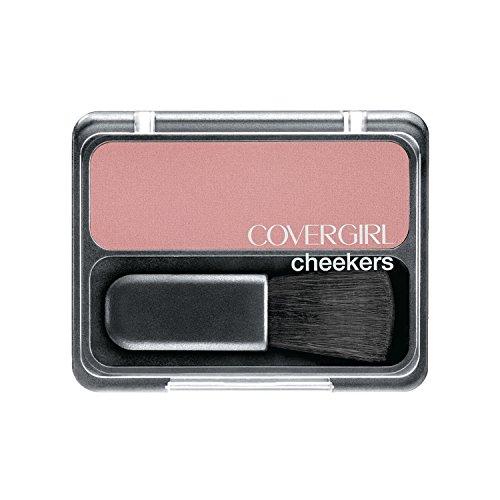 COVERGIRL Cheekers Blendable Powder Blush Brick Rose, .12 oz