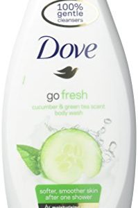 d31c8b6ec8cf 199x300 - Dove Go Fresh Cool Moisture Fresh Touch Body Wash Cucumber and Green Tea 16.9 Oz / 500 Ml (Pack of 3)