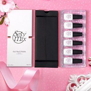 d8fdfe09da78 300x300 - Gel Nail Polish for Nails, Soak Off UV Pink Gel Kit Required Gel Base Top Coat LED Nail Lamp