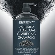 Activated Charcoal Shampoo 16 fl. oz – Sulfate Free – Volumizing & Moisturizing, Gentle on Curly & Color Treated Hair, for Men & Women. Infused with Keratin.