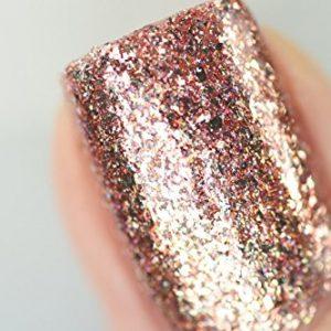 e573c516f665 300x300 - ILNP Juliette Holographic Nail Polish, Rose Gold