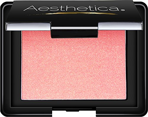 Aesthetica Blush Compact – Translucent Pressed Powder Blush, 0.16 oz