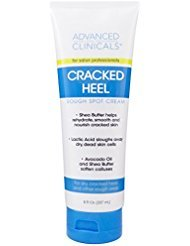 f3c50a0e0f3a - Advanced Clinicals Cracked Heel Cream for dry feet, rough spots, and calluses. 8oz.