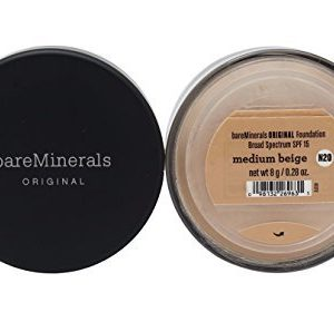 f7d7067a507a 300x289 - Bare Escentuals Face Care 0.28 Oz Bareminerals Original Spf 15 Foundation - # Medium Beige For Women