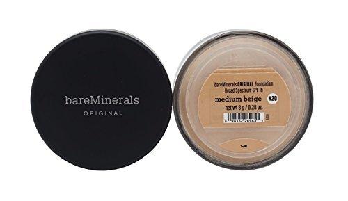 Bare Escentuals Face Care 0.28 Oz Bareminerals Original Spf 15 Foundation – # Medium Beige For Women