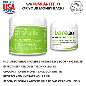 f80eb176d9aa 300x300 - Bare Urea 20% Percent Cream for Hands, Feet, Elbows and Knees - Corn & Callus Remover - Skin Exfoliator & Moisturizer - Repairs Thick, Callused, Dead and Dry Skin