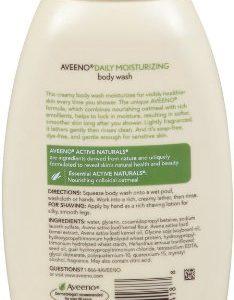f93b0e460bba 234x300 - Aveeno Daily Moisturizing Body Wash, 12 Fl. Oz (Pack of 3)