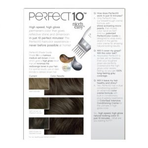 3417bc3a4c8b 300x300 - Clairol Perfect 10 By Nice 'N Easy Hair Color Kit, 005A Medium Ash Brown, Includes Comb Applicator, Lasts Up To 60 Days