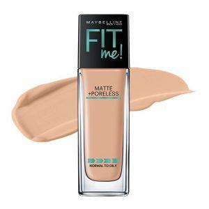 367a5ded954b 300x300 - Maybelline New York Fit Me Matte Plus Poreless Foundation Makeup, 220 Natural Beige, 1 Fluid Ounce