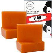 4 bars Kojie San Kojic Acid Soap Soap 65 grams per bar
