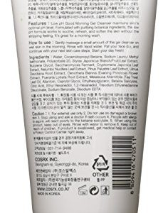 9b8d8a340dd7 236x300 - Cosrx Low PH Good Morning Gel Cleanser, 5.1 Ounce