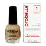 Probelle Nail Hardener Formula 1 – Cures, Repairs and Restores thin, cracked, and peeling nails in weeks
