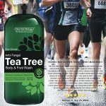 Antifungal Tea Tree Oil Body Wash – HUGE 16 OZ – 100% Pure & Natural – Extra Strength Professional Grade – Helps Soothe Toenail Fungus, Athlete Foot, Body Itch, Jock Itch & Eczema